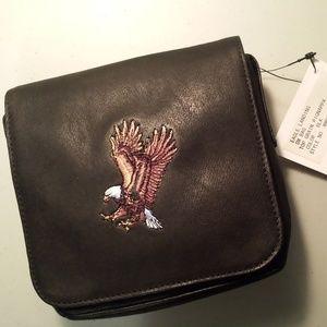 Mini Leather Shoulder Bag - Top Grain Nappa